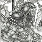 The Troll Rider by CherrieB
