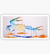 Blue Crab 1 Sticker