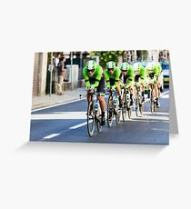 Belkin Pro Cycling Team Greeting Card