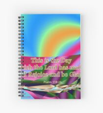 This is the Day which the Lord has made Spiral Notebook