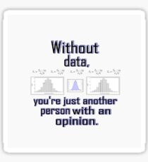 Without Data...... Sticker