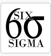 Six Sigma Sticker
