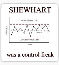 Shewhart  Sticker