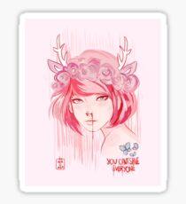 Max Caulfield (pink) Sticker