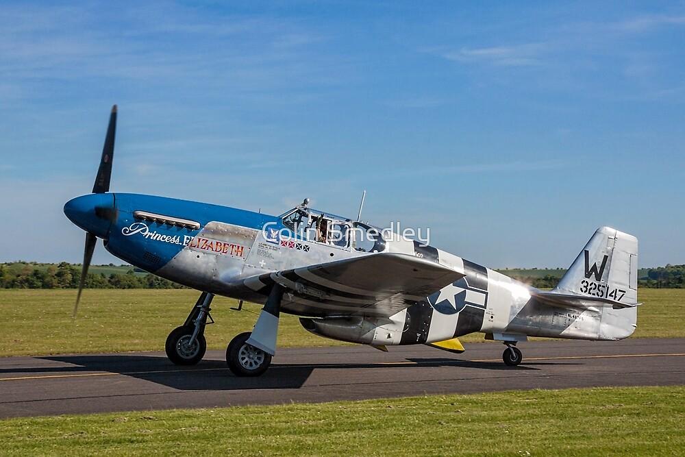 """Comanche Warbirds' P-51C """"Princess Elizabeth"""" by Colin Smedley"""