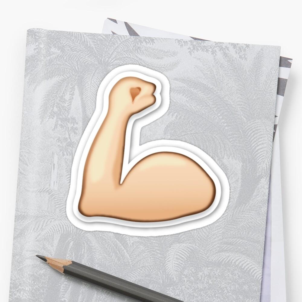 Arm Flex Emoji Emoji World
