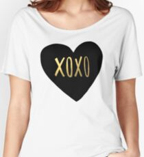 XOXO Women's Relaxed Fit T-Shirt