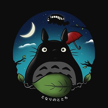 Nightly Neighbor [Totoro] by Ruwah