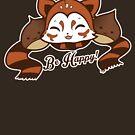 Be Happy - Kuri, the Red Panda by Ruwah