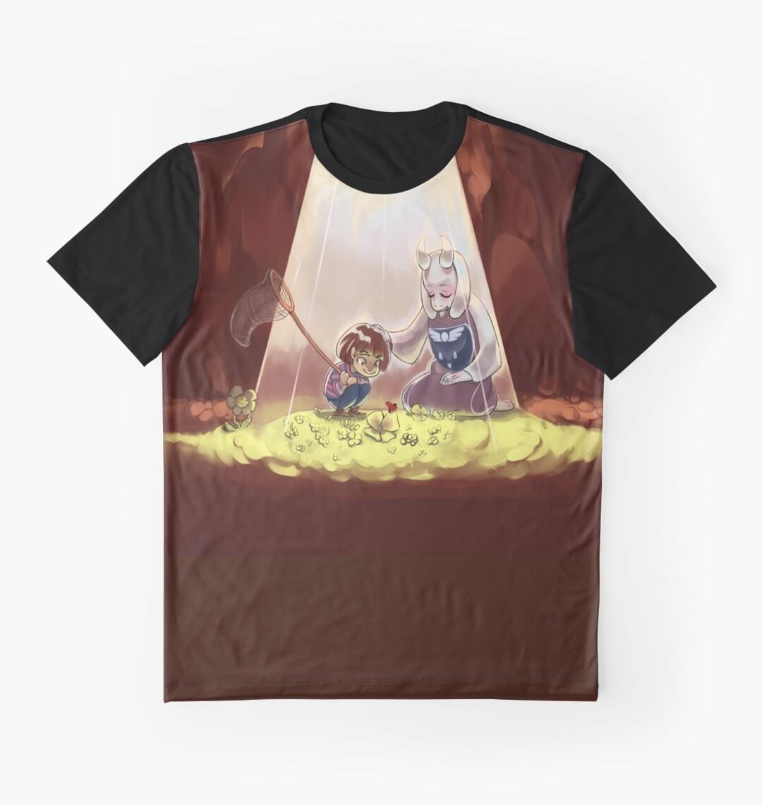 Design shirt redbubble - Cute Undertale Design