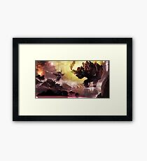 Draw Framed Print