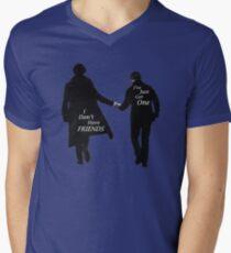 'I Don't Have Friends' Men's V-Neck T-Shirt