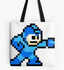 Mega Man Pixel Art Tote Bag