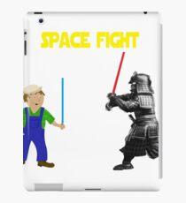Space Fight Battle Scene iPad Case/Skin