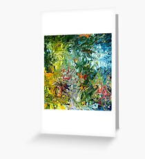 modern composition 31 by rafi talby Greeting Card