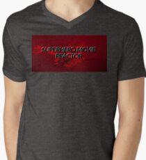 Superhero Movie Reactor Men's V-Neck T-Shirt