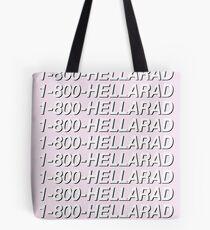 1-800-HELLARAD Tote Bag