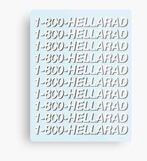 1-800-HELLARAD Metal Print