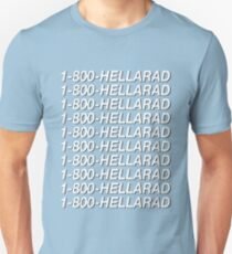 1-800-HELLARAD Slim Fit T-Shirt