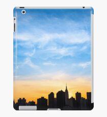 A Gold Sunset - New York City Silhoutte iPad Case/Skin