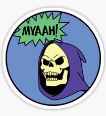 Skeletor MYAAH! Sticker
