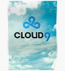 Cloud 9 - C9 - League of Legends Poster