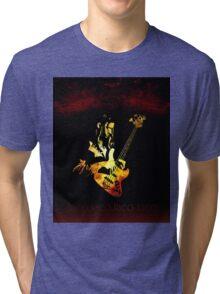 Jaco Pastorius Flame Tri-blend T-Shirt