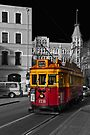 Christchurch Tram by Werner Padarin