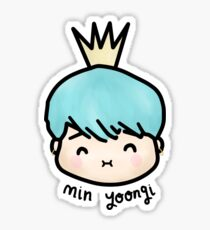 Min Yoongi - Suga BTS Fanart Sticker