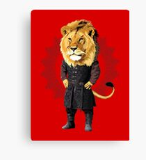 Lion Tyrion Canvas Print