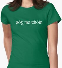 Pog Mo Thoin T-Shirt Womens Fitted T-Shirt
