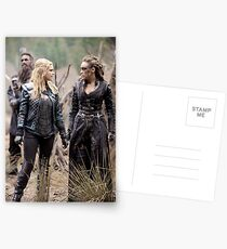 The 100 - Clexa (2x15) Postcards