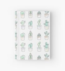 watercolor cacti Hardcover Journal