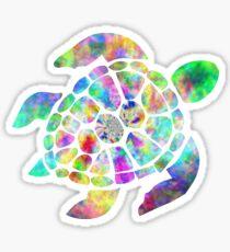 Turtle Trippy Sticker