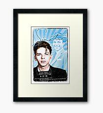 Frank Sinatra Quote. Mugshot. Art. Rat Pack.  Framed Print