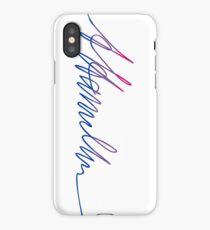 Bisexual A.Hamilton iPhone Case/Skin