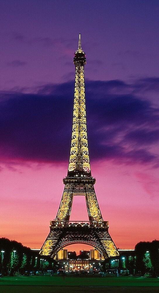 Eiffel Tower by callielander