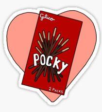 Pocky Love Sticker