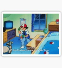 Ash Ketchum Sticker