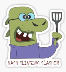 The Hash Slinging Slasher Sticker