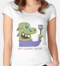 The Hash Slinging Slasher Women's Fitted Scoop T-Shirt