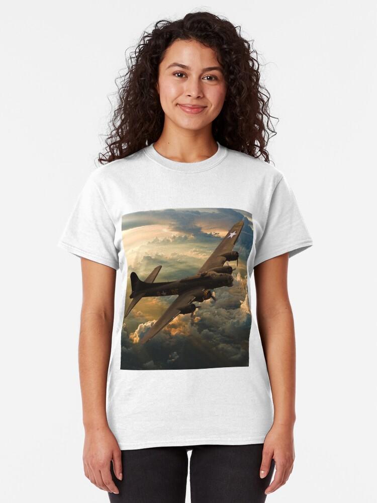 Alternative Ansicht von Sonnenuntergang Sally Classic T-Shirt