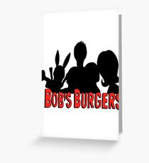 The Belcher Family // Bobs Burgers Greeting Card
