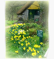 The Old Bakery at Branscombe Poster