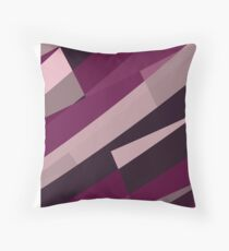 Pink Purple Leopard Design Pattern Throw Pillow
