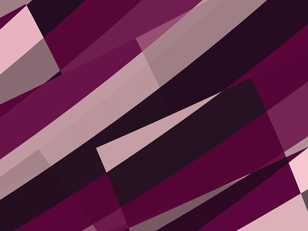 Pink Purple Leopard Design Pattern by Garret Bohl