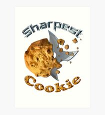 Sharpest Cookie (in the Jar) Art Print