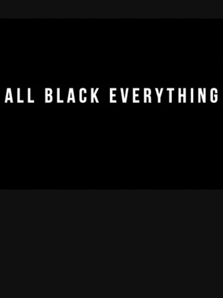 All Black Everything by sabrinasteckk