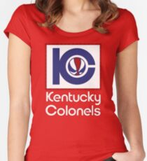 DEFUNCT - KENTUCKY COLONELS Women's Fitted Scoop T-Shirt