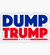 DUMP TRUMP 3 Sticker